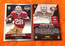 2014 Panini Black Friday RC #/499 CARLOS HYDE 49ers/Ohio State Rookie QTY