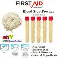 Blood Clot Powder 100% Organic Blood Stop Powder Non Toxic Pet Safe Clotting