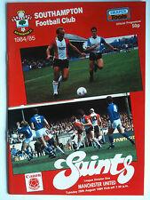 Nuovo di zecca 1984/85 Southampton V Manchester United 1st DIVISIONE