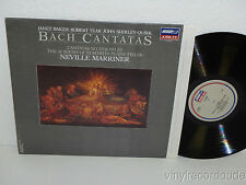 NEVILLE MARRINER/ ASMF Bach Cantatas No. 157, 170 LP London Jubilee JL 41070