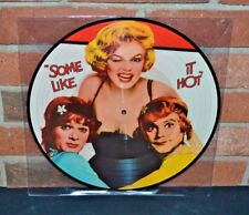 """Some Like It Hot - Soundtrack, Ltd Import 12"""" Picture Disc Marilyn Monroe New!"""