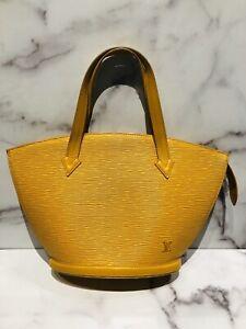 Louis Vuitton LV Saint Jacques Epi Yellow PM Bag
