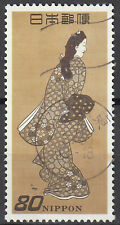 Japan gestempelt Geisha Kabuki Theater Schauspieler Tracht Tradition / 7184