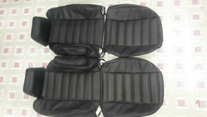 2003-2007 Hummer H2 Leather Replacement Seat Covers with Arm Rests