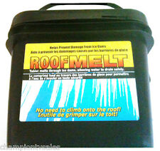 60 Count, Roof Ice Melt Tablet, Designed To Prevent Damage To Roofs RM65S 148484