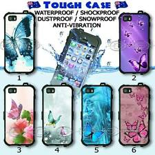 For iPhone, Tough Waterproof CASE Phone COVER Butterflies Collection Shock Proof