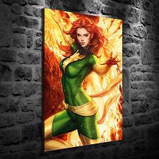 HD Print Oil Painting Decor Art On Canvas Phoenix Arise 12x18inch Unframed