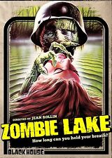 ZOMBIE LAKE di Jean Rollin DVD Horror in Francese NEW .cp