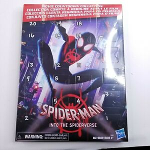 Spider-Man Movie Countdown Collection Mini Action Figures + Stickers New Sealed