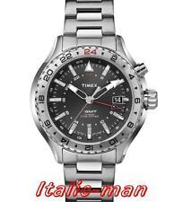Timex IQ 3-gmt Orologio da Uomo T2p424