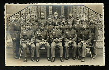 159-MILITARY WWII-GERMANY -GERMAN OFFICIALS OF THE THIRD REICH(Real Photo (RPPC)