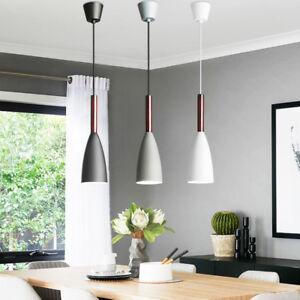 Kitchen Pendant Lighting Bar Wood Lamp Modern Pendant Light Home Ceiling Lights