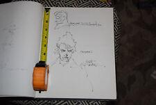 Michael T. Gilbert Mr. Monster Scott Hampton Sandman Original Comic Art Sketches