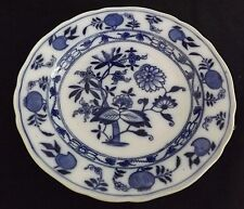 Brown Westhead & Moore England Meissen Blue Onion Salad Plate