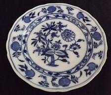 Brown Westhead & Moore England Meissen Blue Onion Salad Plate