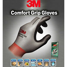 [100Pairs] 3M Nitrile Foam Coated Comfort Grip Safety Work Gloves  Gray L size