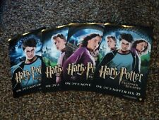 RARE Harry Potter Prisoner Azkaban Promo Poster SET OF 4 Ron Hermione JAS 7