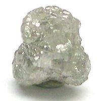 1+ Carats SILVER Natural Uncut Raw ROUGH DIAMONDS