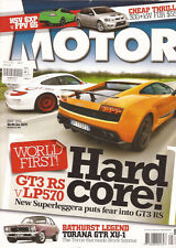 Motor May 10 VE Clubsport FPV FG GS Gallardo Porsche 918 Spyder Audi RS Q7 LP570