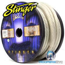 STINGER SHW10C-50 HPM 1/0 AWG MATTE CLEAR 50 FEET HYPER-FLEX POWER GROUND CABLE