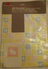American Greetings Baby All-in-one 2.5ft x 3.3ft Sheet-8.33 Sq Ft w/bow and tag