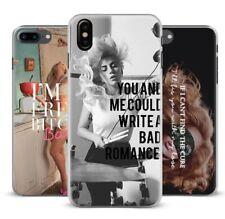 Lady Gaga Monster Lyric Phone Case iPhone XR XS Max X 8 7 6 Plus 5 Samsung