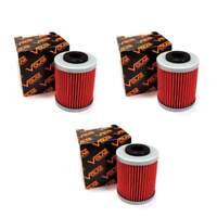 2007-2011 Polaris Outlaw 525 IRS Oil Filter - 2nd Filter - (3 pieces)