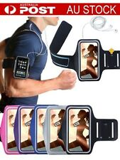AU Gym Sports Armband Running Case Jogging Cover For Samsung Note 5 S6 edge