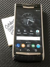 "Brand NEW Genuine Vertu Signature Touch 5.2"" Jet Alligator Black Extremely RARE"