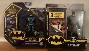 DC Spin Masters New Tech-bat and Thomas wayne LOT 2'