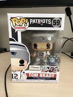 Funko POP! Tom Brady Patriots Fanatics Exclusive #59 NFL