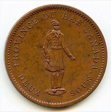 Breton 521, 1837 Banque du Peuple, One Penny Token CH LC-9C1 PCGS Proof-64