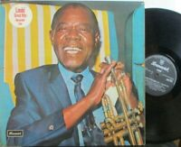 LOUIS ARMSTRONG ~ Great Hits Live ~ VINYL LP