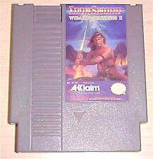 IronSword iron sword Wizards & Warriors II 2 Nintendo NES classic Game cartridge