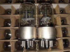 2 x MELZ 6N9S 6SL7 Metal Base Tubes