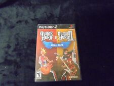 Play Station 2 Guitar Hero & Guitar Hero II