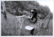 Ansichtskarte: Der kleine Flugzeug - Pilot - L'Aviateur - The little Aviator