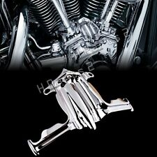 Chrome Tappet / Lifter Block Accent Cover for Harley Twin Cam 02-16 Touring Dyna