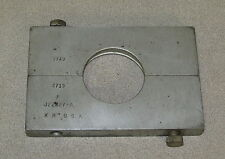 Kent Moore Camshaft Bearing Remover Plate J-22227-A