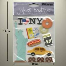 JOLEE'S BOUTIQUE - NEW YORK, Broadway, Statue of Liberty - DIMENSIONAL STICKER
