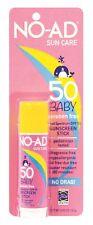 NO-AD Baby Sunscreen - SPF 50 Stick - 0.65 oz