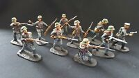 AIP/airfix 1/32 PRO-PAINTED(QUALIFIED)!!!German  infantry stormtroops WW1  54mm