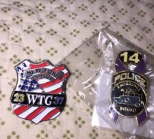 Fire Store Original City Of New York Department Pin Lot Flag Police 23 37 14