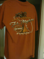 HARLEY DAVIDSON FT. MYERS FLORIDA SHIRT SHORT SLEEVE SIZE XL