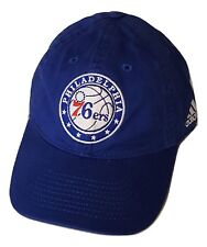 6c9f728d864a6e Philadelphia 76ers Cap Slouch Style Adjustable Logo Hat Team Blue NBA  Headwear