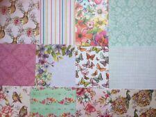 12 feuilles taster Pack 6 x 6 DOVECRAFT bohème soutien fabrication carte artisanat papier