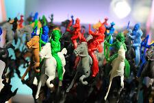 Payton Lido Cowboys Indians Horses Soft Plastic Vintage Western Playset Soldiers