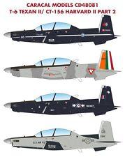 Caracal 1/48 North-American T-6 Texan II / CT-156 Harvard II # 48081