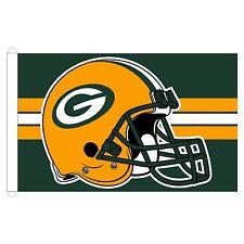 Green Bay Packers WC Premium casco 3x5 bandera bandera de casa al aire  libre Fútbol bda1456f430
