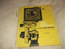 VINTAGE COLLECTABLE HB LARGE FORMAT PHOTOGRAPHY SINAR SYSTEM CARL KOCH 1971